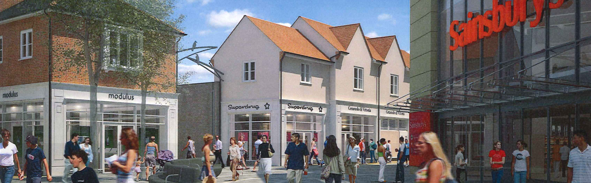Bicester Town Centre Development by Ziran Land